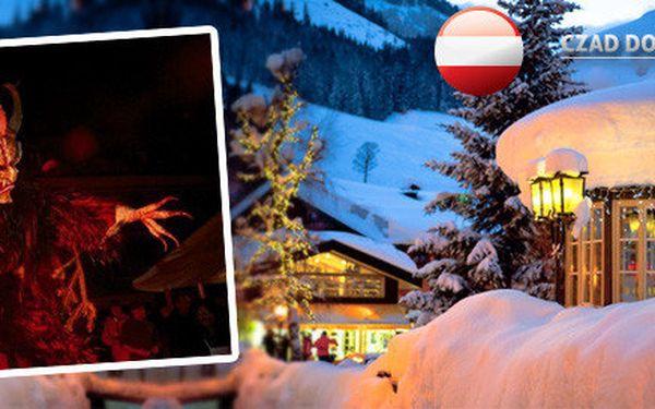 Advent a veselice čertů v Rakousku