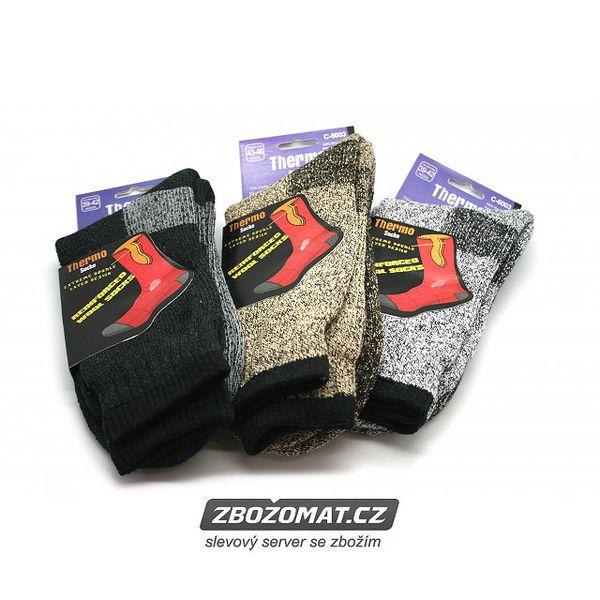 Pánské vlněné termo ponožky Steeve!