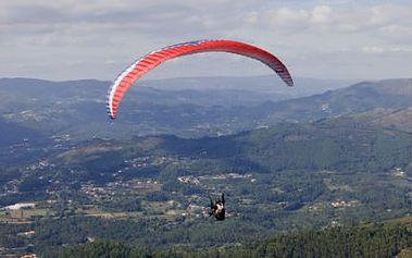 Tandemový paraglidingový let nad Orlickými horami!