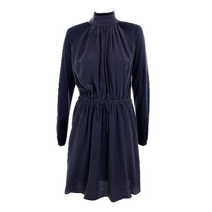 Dámské temně modré společenské šaty Max Mara