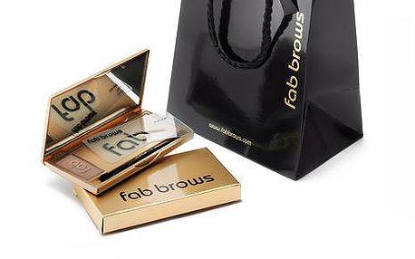fab brows Luxusní set pro úpravu obočí fab brows Chocolate