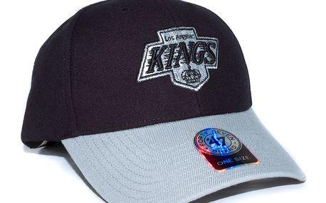 Kšiltovka 47 Brand Los Angeles Kings Stand By Black/Grey Snapback černá / šedá / šedá