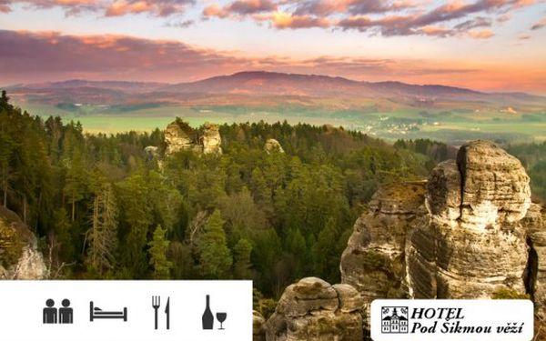 Český ráj – dovolená pro dva s polopenzí