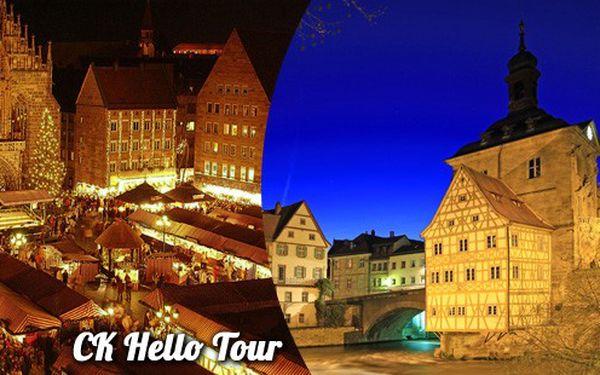 Adventní Bamberg a Norimberk 13. 12. 2014