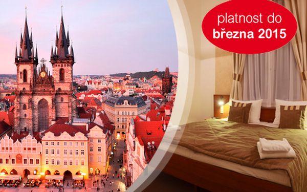 3 dny přímo v centru Prahy pro DVA se snídaní