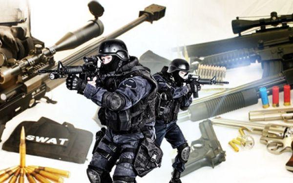 Elitní voják na zkoušku! Za super cenu od 1099 Kč! Zkuste zbraně AKČNÍCH HRDINŮ či SPECIÁLNÍCH JEDNOTEK!