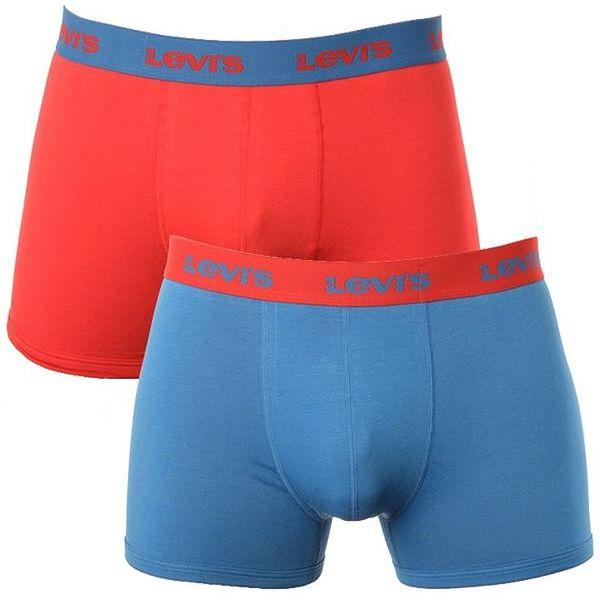 Set 2 pánských boxerek Levi's - červené a modré
