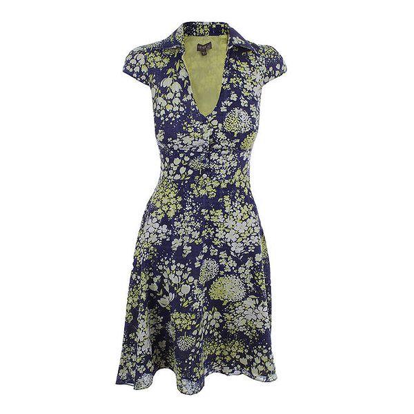 Dámské květované bavlněné šaty Fever