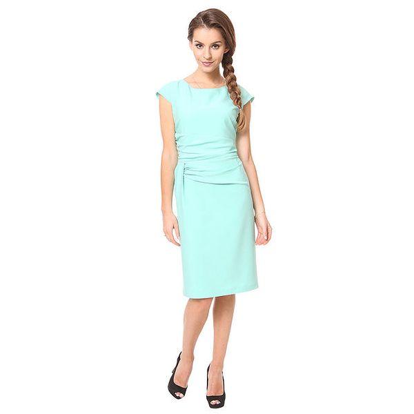 Dámské mentolové pouzdrové šaty Moda Prym