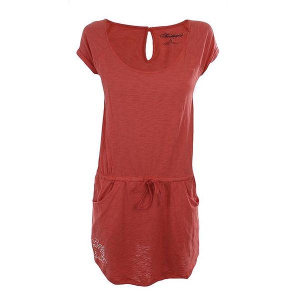 Dámské červenooranžové šaty Fundango