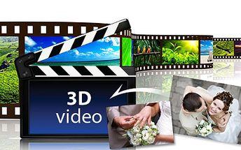 Jedinečné 3D VIDEO z Vašich fotografií se spoustou efektů, animací a stylů, kterým ohromíte své nejbližší!