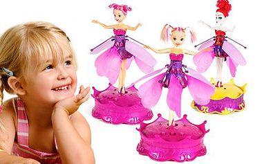 Senzační květinové létající víly pro malé holčičky - 3 druhy