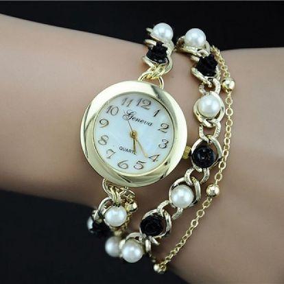 Jemné hodinky Geneva s náramky