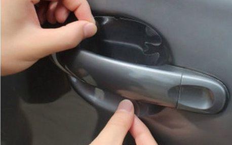 Folie proti poškrábání laku na dveřích auta - dodání do 2 dnů