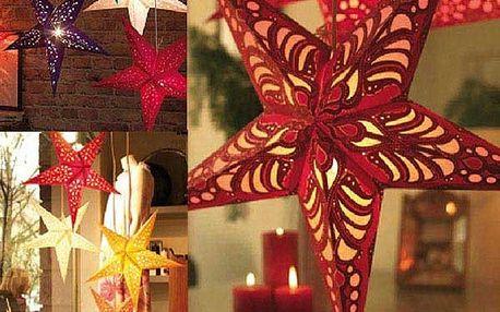 Trojrozměrná vánoční hvězda