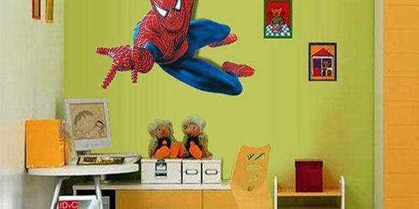 Samolepka na zeď Spiderman - nalepte si svého superhrdinu na zeď!