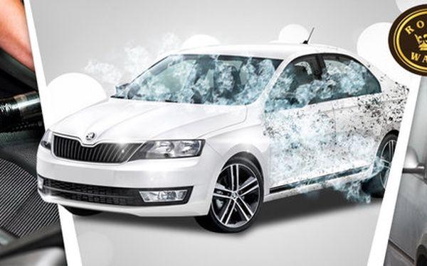 Důkladná očista vašeho vozu - exteriér i interiér