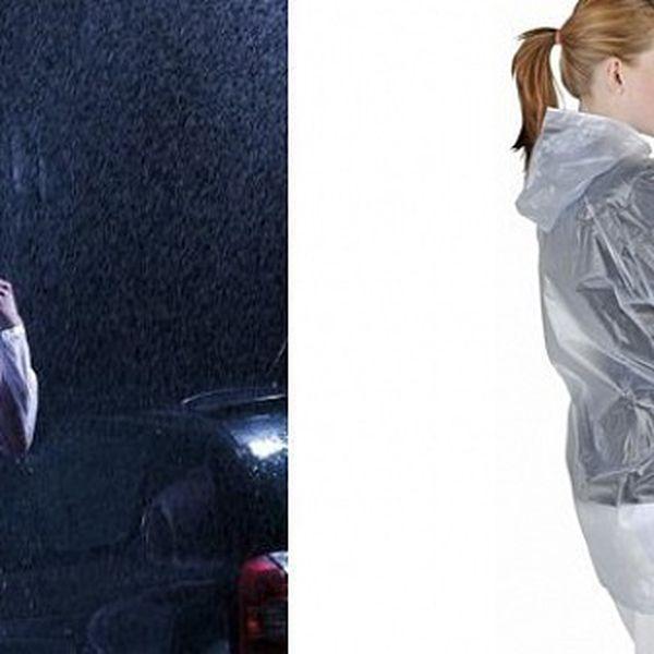 Účelná a modní UNISEX pláštěnka do deštivého počasí, která Vás ochrání před deštěm, ať už jste kdekoliv!