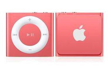 MP3 přehrávač Apple iPod shuffle 2GB (MD773HC/A) růžový