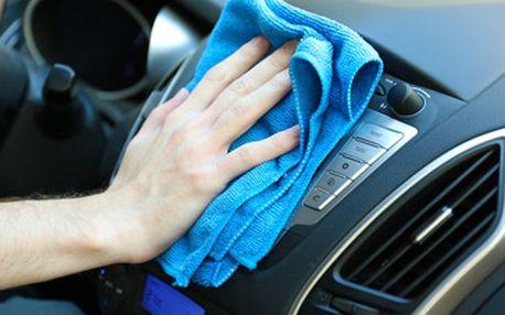Luxusní ruční mytí exteriéru i interiéru vozidla dvousložkovými přípravky - dvousložková nanotechnologie za skvělých 1199 Kč!