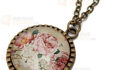 Stylový náhrdelník v retro stylu - 9 motivů a poštovné ZDARMA! - 9999914772