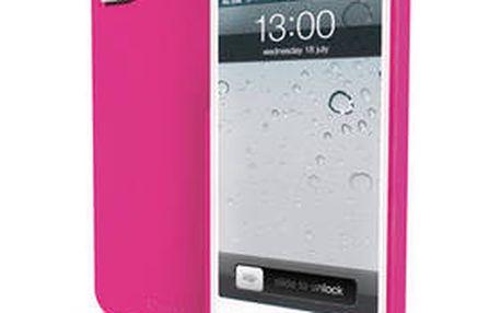 Ochranný zadní kryt Apple iGUM pro Apple iPhone 5 (MUBKC0540) růžový