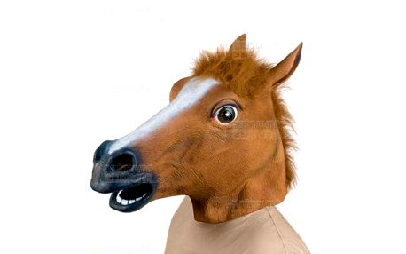 Bláznivá maska - kůň a poštovné ZDARMA! - 9999914652