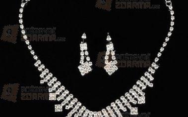 Elegantní souprava šperků a poštovné ZDARMA! - 9999914791