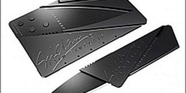 Nůž v kreditní kartě