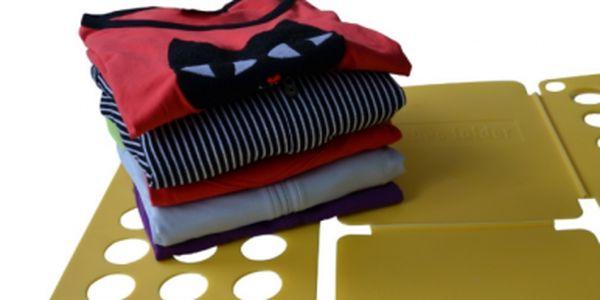 Jen 169 Kč za desku na rychloskládání oblečení!! Skvělý pomocník patří do každé domácnosti. Sleva -63%!