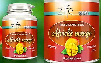 Africké mango: pomáhá hubnout a snižovat cholesterol. Cena 99 Kč!