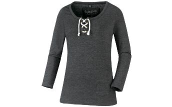 Přiléhavé dámské tričko s dlouhým rukávem Authentic