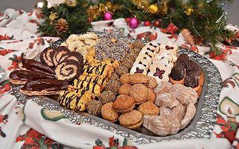 10 nebo 15 druhů výtečného vánočního cukroví!