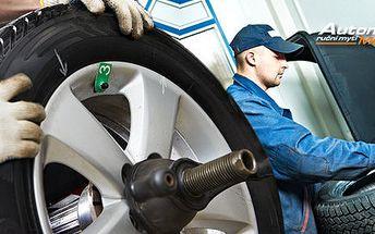 Profi přezutí pneumatik v Automyčce Mercury