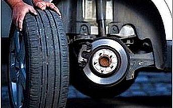 Přezutí pneu ve Zlíně