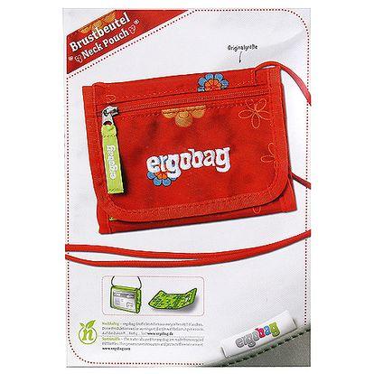 Skvěle organizovaná textilní kapsička s motivem německé značky Ergobag