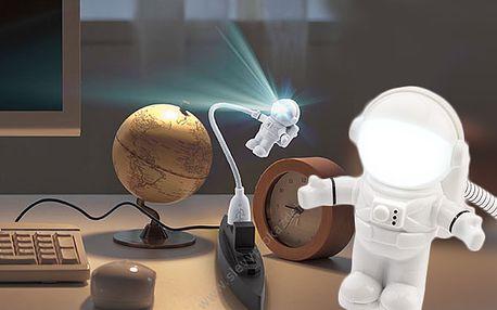 Vánoční hit! USB Lampička Astronaut