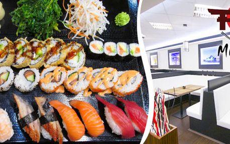 Rodinné sushi menu v Sushi Miomi