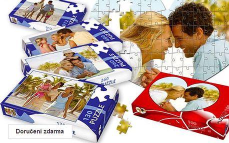 Puzzle z vaší fotografie v dárkové krabičce