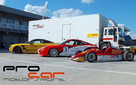 Jízda ve Formuli, Porsche, Mustangu, racetaxi Formula2x