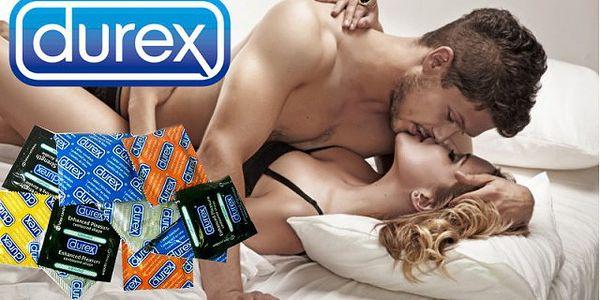 Luxusní balíčky kondomů Durex (40 ks) s lubrikačním gelem!