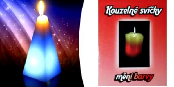 Magická svíčka - Květinka