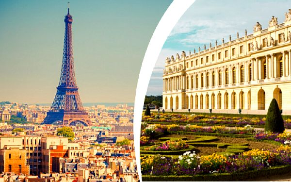 Romantická Paříž a Versailles s ubytováním se snídaní a dopravou