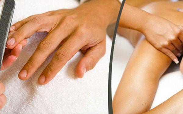 Vánoční balíček - Japonská manikúra + hodinová masáž rukou, ramenního pletence a uvolnění šíje