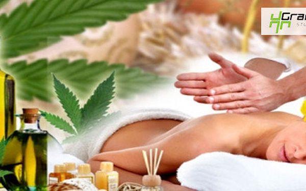 Konopná relaxační masáž - 60 minut