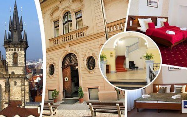Vychutnejte si krásu Prahy! Pobyt pro 2 osoby v hotelu U Svatého Jana v historickém centru přímo u Karlova náměstí! Romantické ubytování s nádechem mystiky, bohaté bufetové snídaně a platnost až do března 2015!