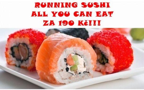 Running sushi za poloviční cenu!!!