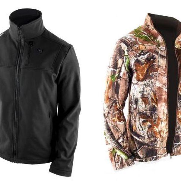 Lehká, vytápěná unisex bunda Soft Jacket ve dvou barevných variantách
