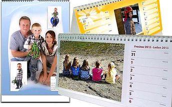 Kalendář z vlastních fotek v několika variantách!