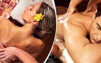 Klasická relaxační masáž zad a šíje v délce 30 minut + 30minutový skořicový zábal